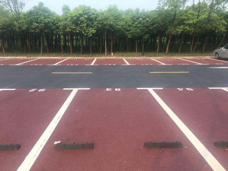 停车场露骨料透水地坪的施工方案